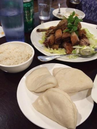 Princeton Junction, Nueva Jersey: Crispy duck