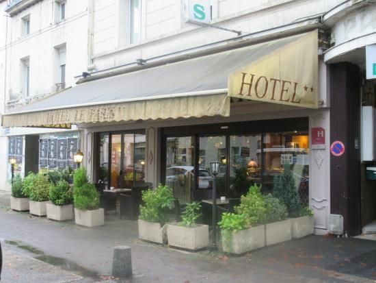 Citotel Le Paris: Hotel Le Paris street view