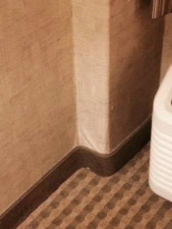 Bathroom Window Air Conditioner sagging wallpaper near window air conditioner - picture of crowne
