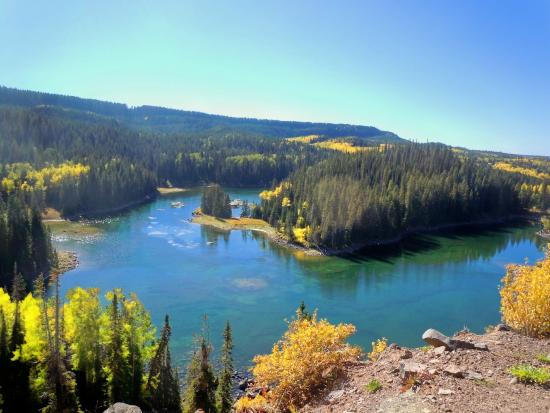 Grand Junction, CO: One of the 300 alpine lakes on the Grand Mesa