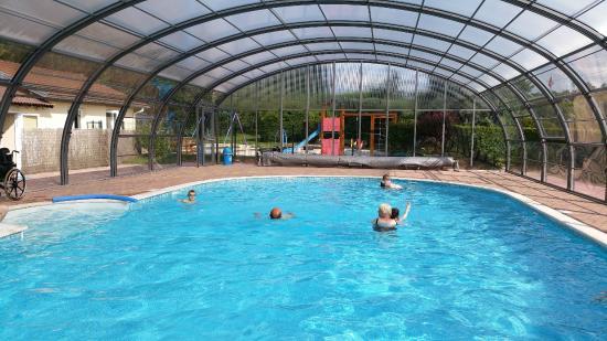 Sites et Paysages Camping Au Clos de la Chaume : piscine camping vosges