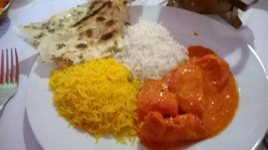 Los Montesinos, İspanya: Butter curry...Delish!