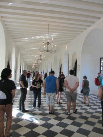 Chateau de Chenonceau: the bridge area
