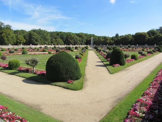 Chateau de Chenonceau: garden