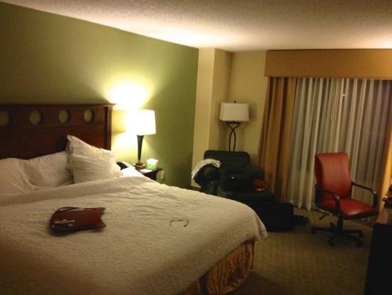 Hampton Inn & Suites Tampa/Ybor City/Downtown: King Bedroom