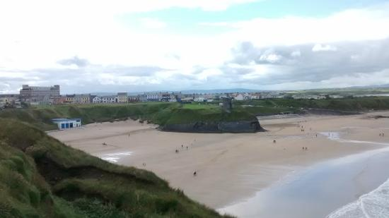 Ballybunion, İrlanda: Ladies e Males beach