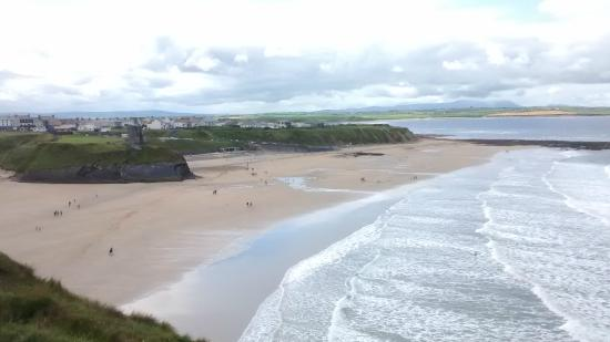 Ballybunion, İrlanda: Ladies e Men's beach