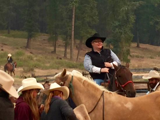 Three Bars Guest Ranch: Morning Ride