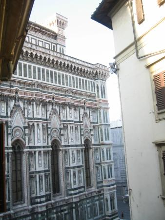 Hotel Duomo Firenze: View from my room at the El Duomo hotel