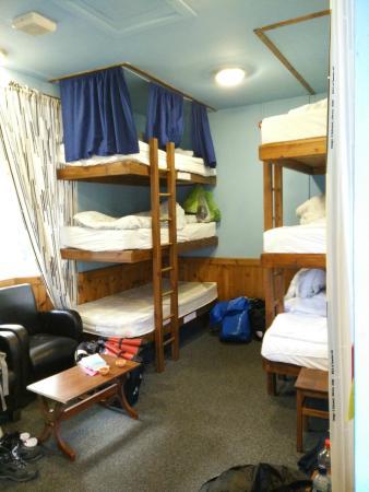 The West Highland Way Sleeper: Room & beds
