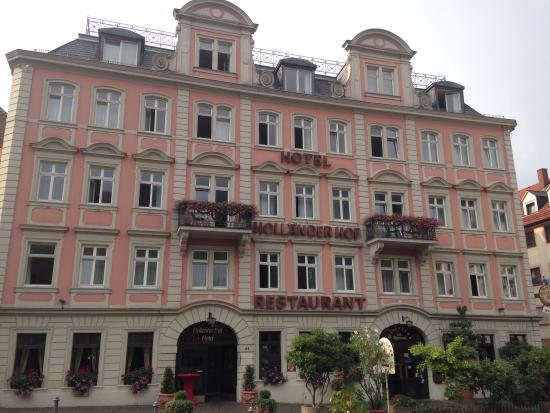 Hotel Hollaender Hof: Front of the hotel
