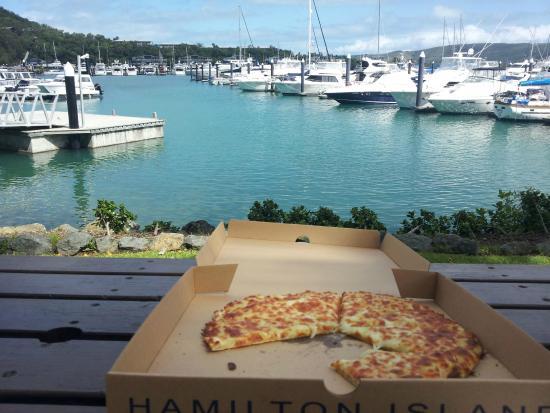 Manta Ray Pizza Hamilton Island