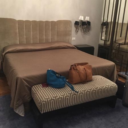 Grand Hotel & La Pace: bedroom