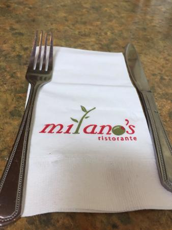 Milano's Ristorante: Milano's Cafe and Grill, Nanaimo, B.C. Lunch is Served!  Salt and Pepper dry ribs, Lamb Souvlaki