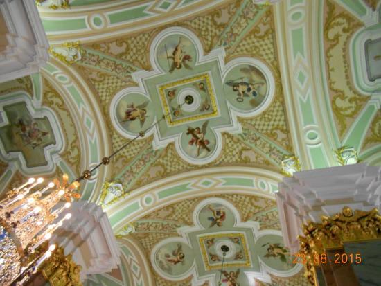 Peter-Paulus-festningen: убранство внутри собора