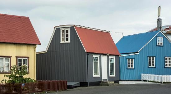 Eyrarbakki, Island: Laugabud