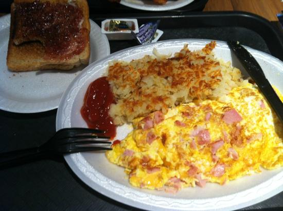 Billy Goat Tavern: Ham and Cheese Omelette