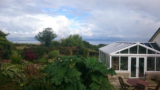 Eglinton, UK: View from the garden