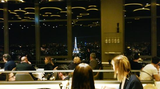Panorama picture of le ciel de paris paris tripadvisor - Le ciel de paris restaurant ...
