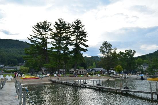Golden Sands Resort on Lake George Bild