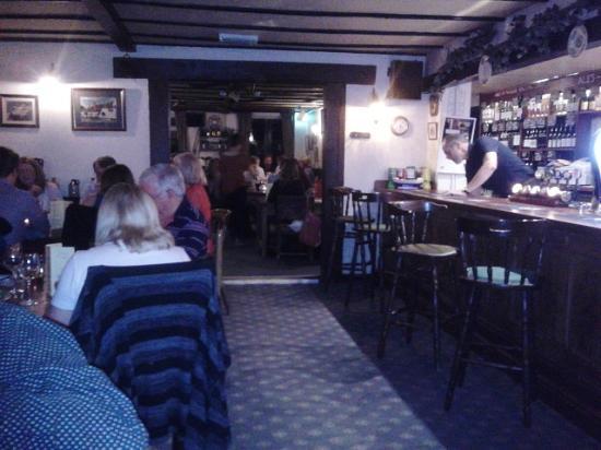 The Plough Inn : bar area