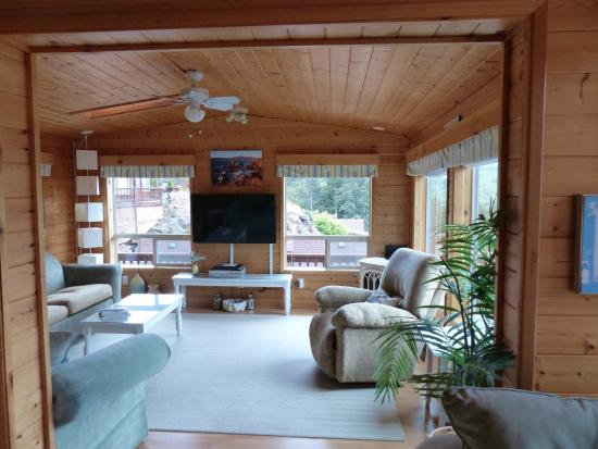 Whaleshead Beach Resort: Living room