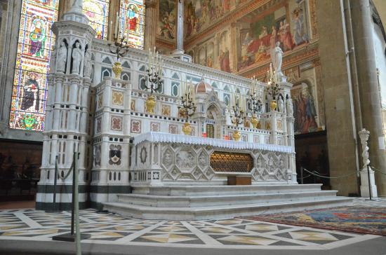Church of Santa Maria Novella: Tesouros da igreja