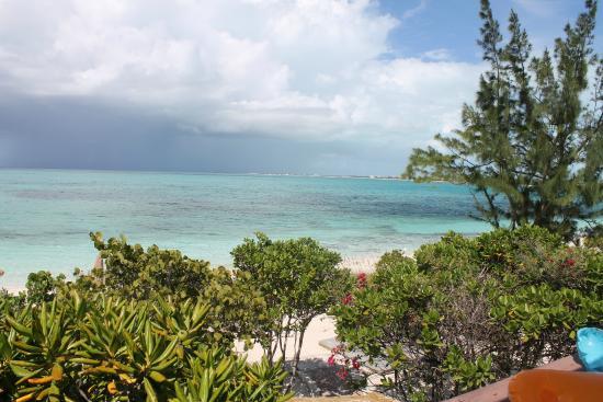 Atlantic Ocean Beach Villas: View from Patio of Ocean Vista