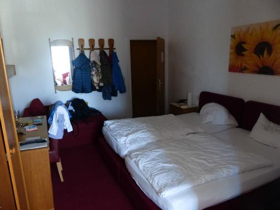 Gasthof Prinzregent: (deel van) De kamer