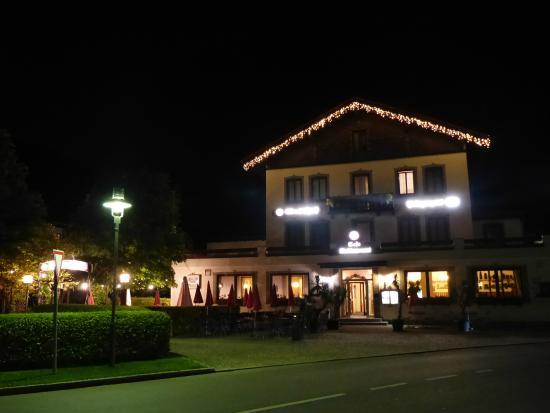 Gasthof Prinzregent: Het hotel bij nacht