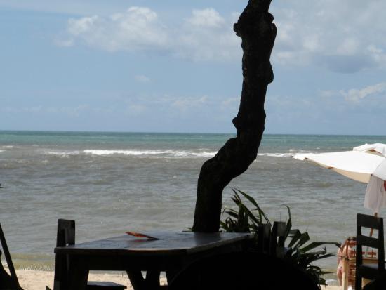 Aquarela Praia: vista do hotel