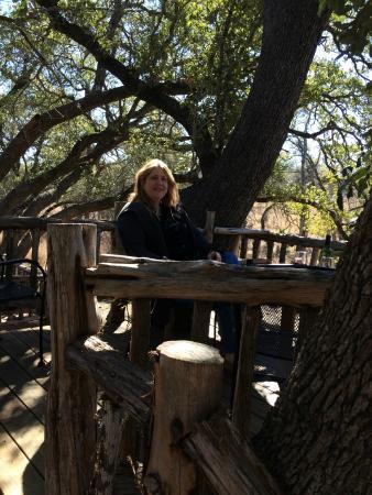 Singing Water Vineyards: sitting in the trees