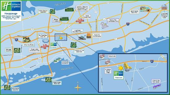 Holiday Inn Express Hauppauge: Area Attractions