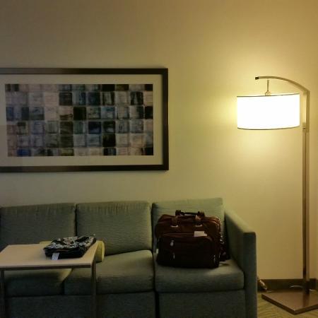 SpringHill Suites Chicago Schaumburg: sitting area