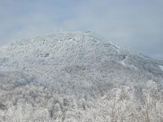 Mont Orford : Blanche Neige!