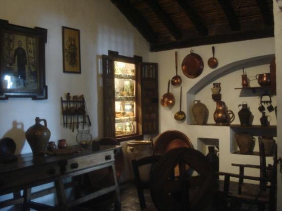Museo de Artes y Costumbres Populares: 内部