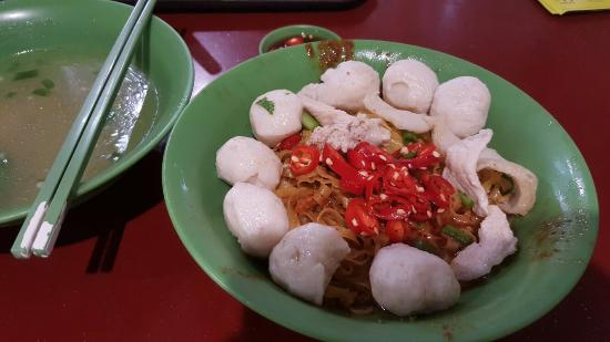 Hock Lee Fish Ball Kway Teow Mee