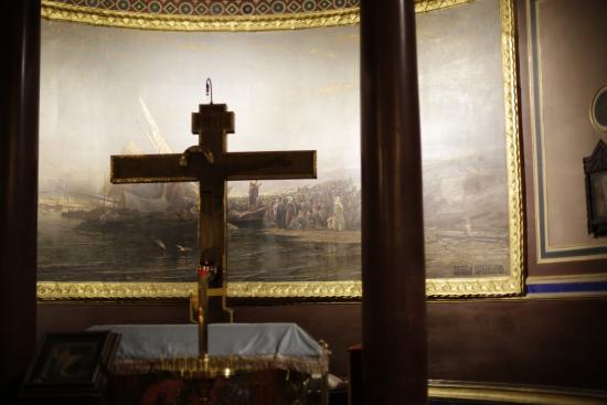 Παρίσι, Γαλλία: PARIS : Eglise russe: Le sermon de Tibériade (Alexis Bogolubokoff).