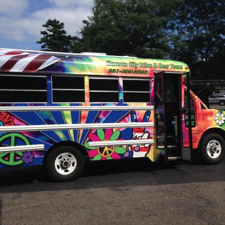 Traverse City Wine And Beer Tours: Someone asked if Scooby Doo was on our bus 😊