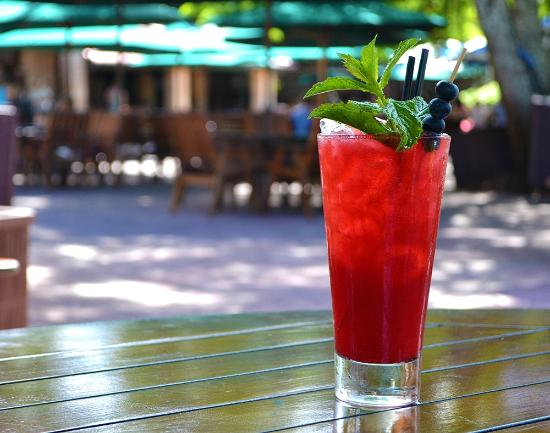 Hotel Brunswick: Watermelon and Lychee Cocktail