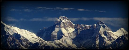 KMVN Tourist Rest House Snowview : Mighty Nandadevi peak