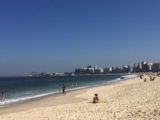 Playa De Copacabana Foto De Praia De Copacabana Rio De Janeiro Tripadvisor