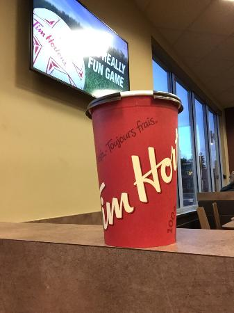 Tim Hortons: Timmys is a good place for coffee