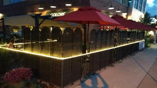 Englewood, CO: Seating inside and out