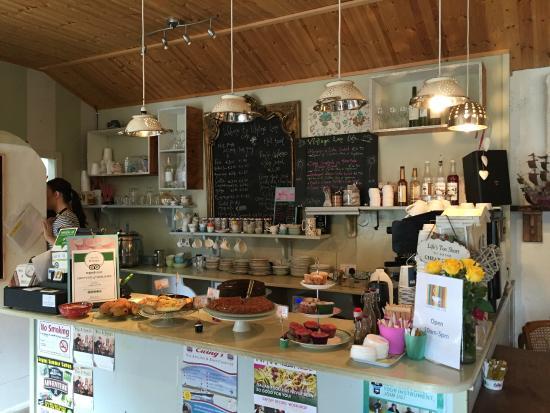Vintage Land cafe counter Picture of Vintage Lane Cafe Sligo