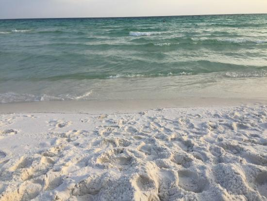 Crystal Sands Beach Powder White Sand Beautiful Clear Blue Water