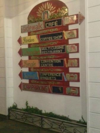 The Garden Café: Entrance