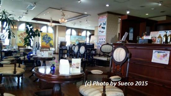 Museo dell'arte veneziana: 落ち着いた雰囲気のカフェ店内