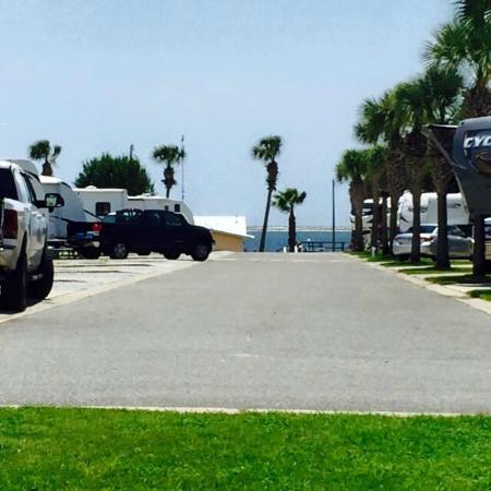Emerald Beach RV Park: View from OV1