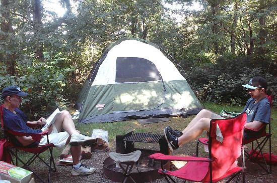 Loft Mountain Campground: Campsite